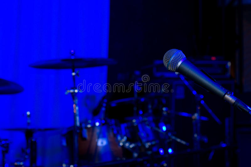 Rock Or Jazz Concert Background Royalty Free Stock Photo