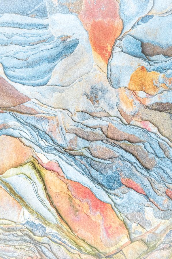 Rock layers - a colorful formations of rocks stacked over the hundreds of years. Interesting background with fascinating texture. And pattern stock images