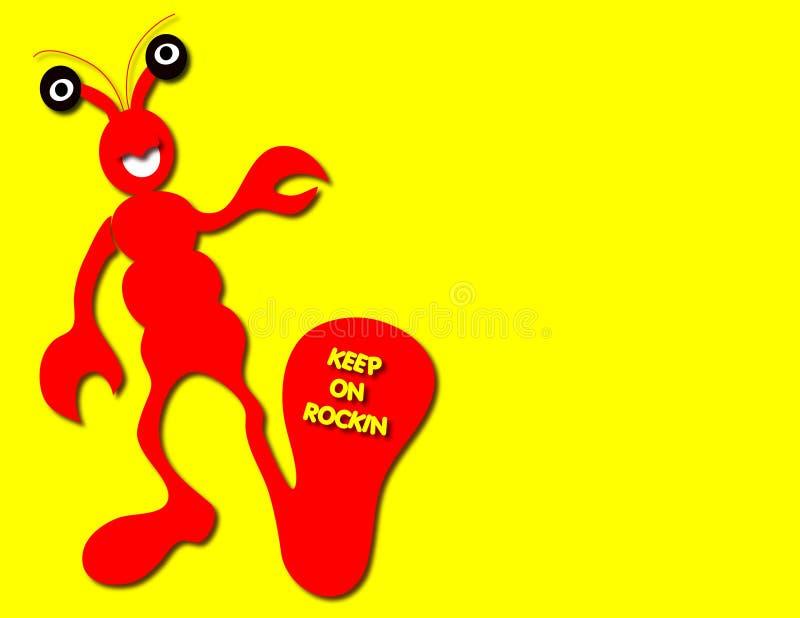 Rock Lobster vector illustration