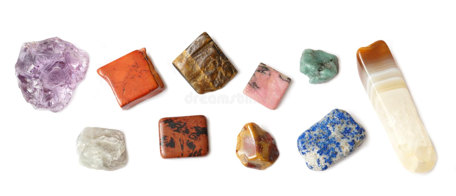 Rock and mineral collection royalty free stock images