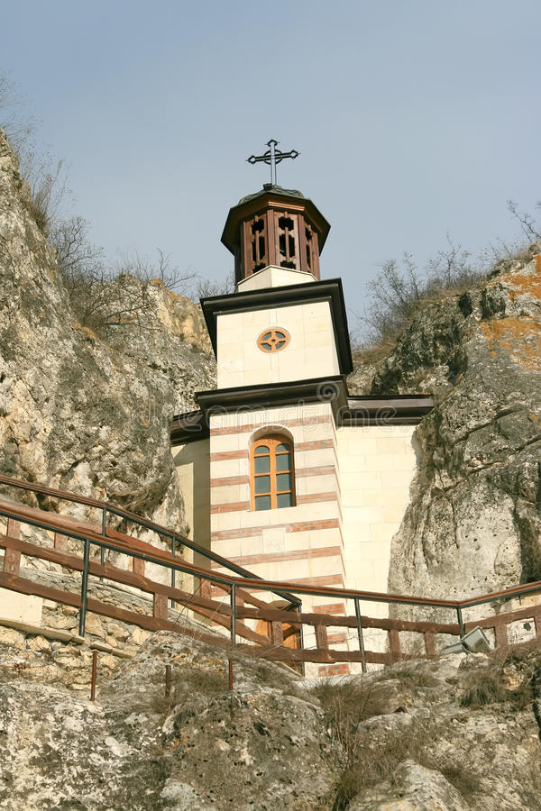 Free Rock Monastery Royalty Free Stock Image - 56328046