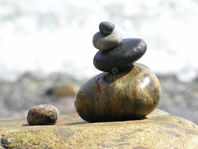 Download Rock monument stock image. Image of tranquility, balance - 39037