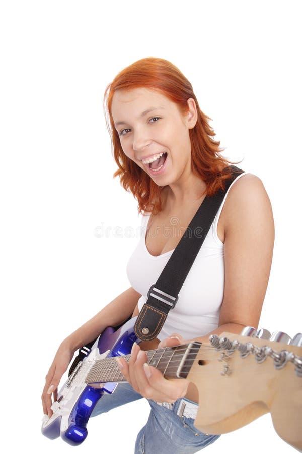 Rock_music immagine stock