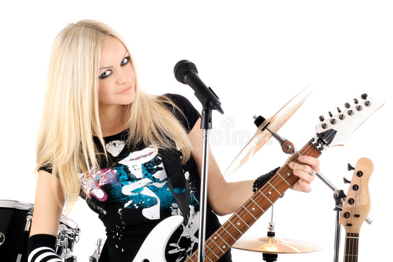 Rock-n-roll royalty free stock photos