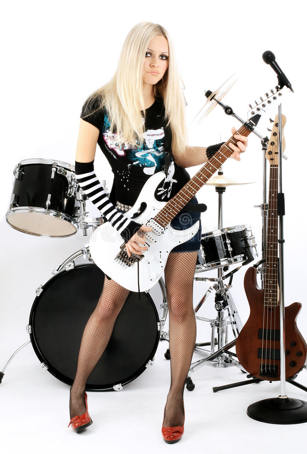 Rock-n-roll stock photography