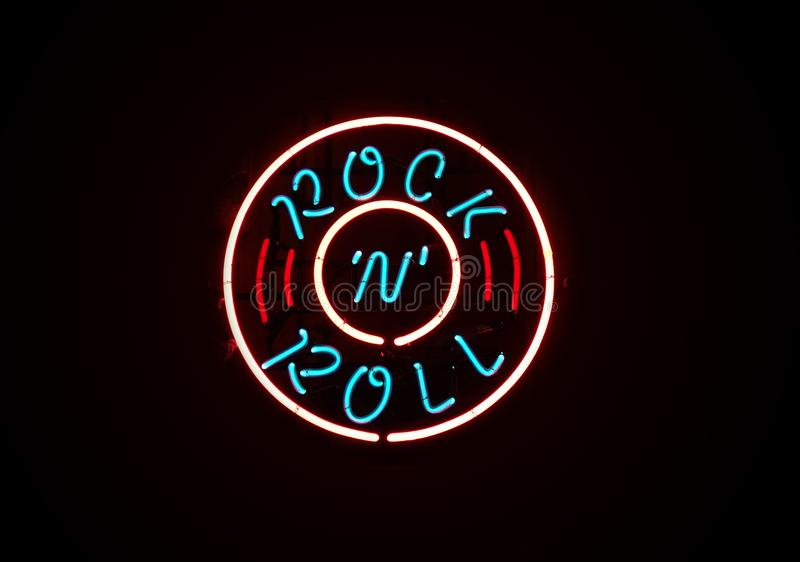 Rock n Roll music stock images