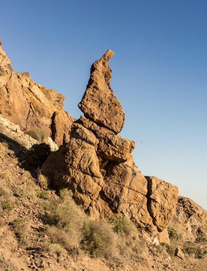 Rock of Nazareno royalty free stock image