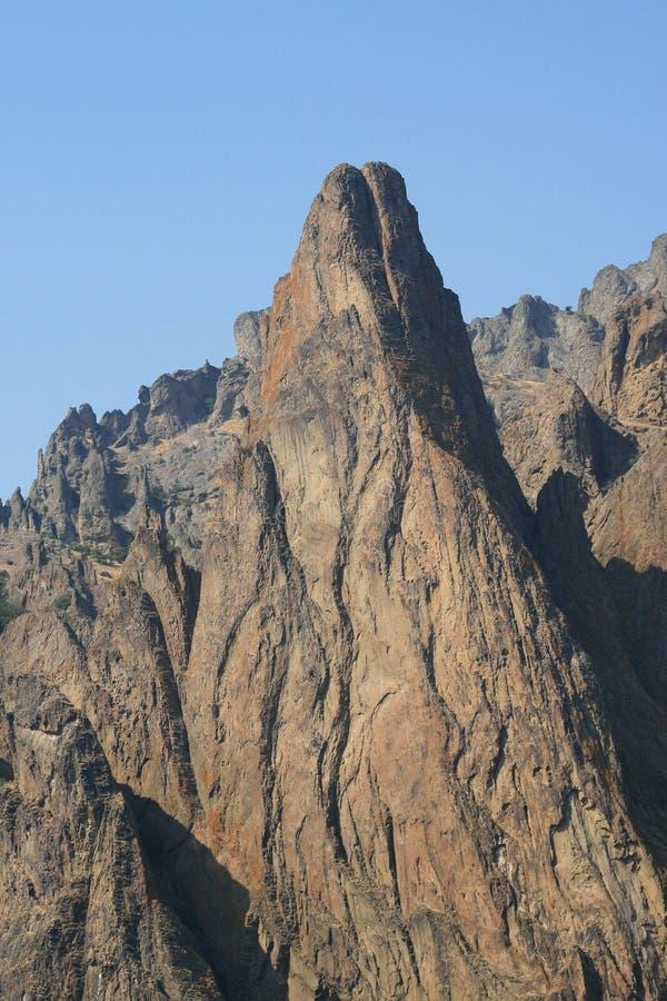 Free Rock Of Mountain Kara-Dug Royalty Free Stock Photos - 11177798