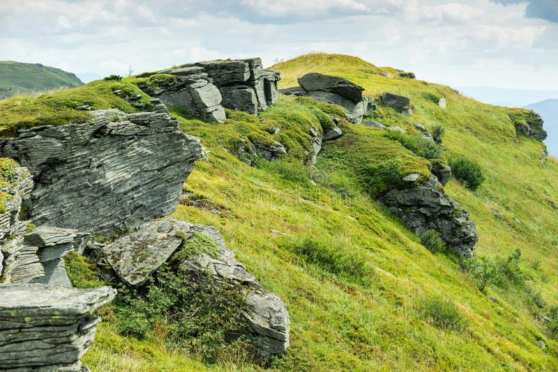 Rock outcrop royalty free stock images