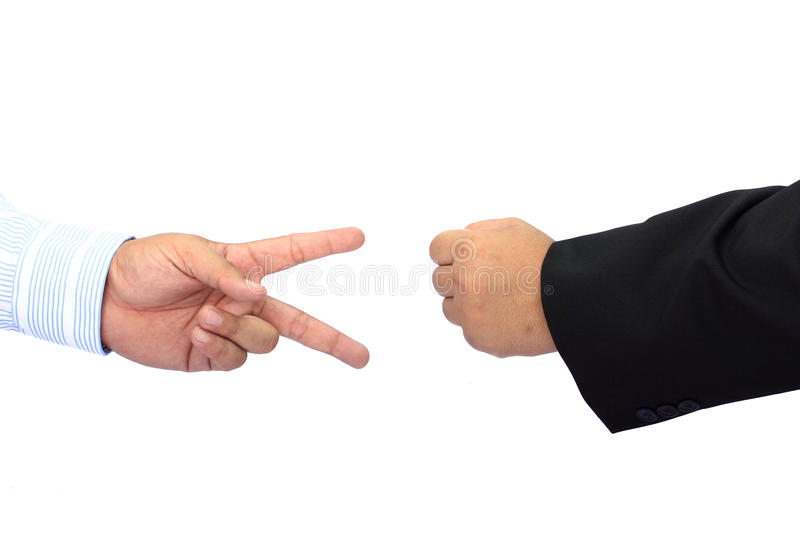 Download Rock Paper Scissors stock image. Image of hold, nail - 25139039