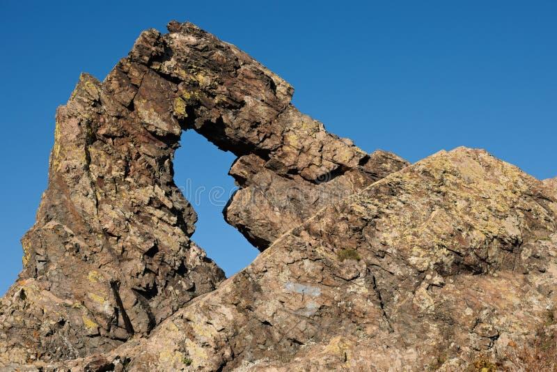 Rock phenomenon Halkata. Halkata rock phenomenon near Sliven, Bulgaria royalty free stock photography