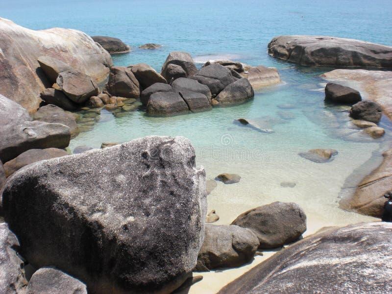 Rock Pool, Koh Samui royalty free stock photos