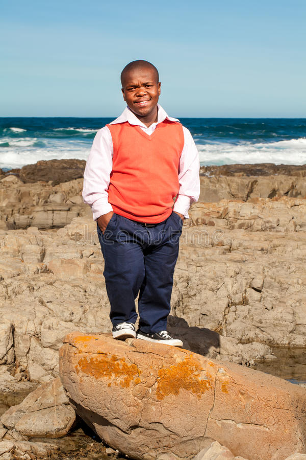 Download Rock posing stock photo. Image of orange, relaxed, boulder - 31097666