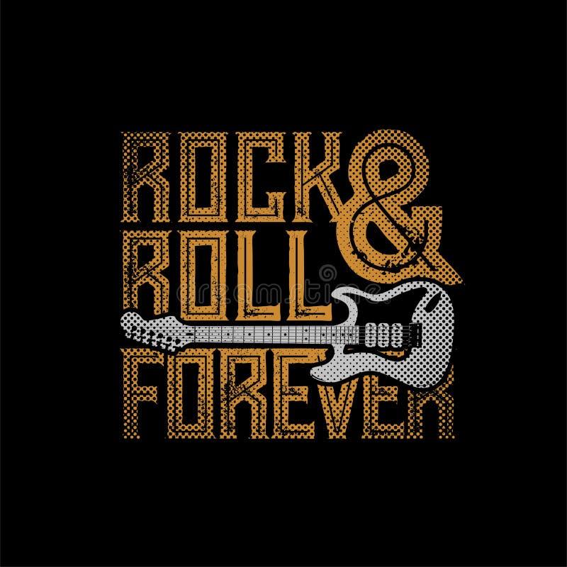 Rock pour toujours illustration libre de droits