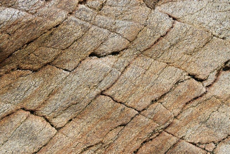 A rock is put on a beach (France). A rock is put on the beach of Piriac-sur-Mer, France, on March 25, 2012. Un rocher est posé sur la plage de Piriac-sur-Mer stock photo