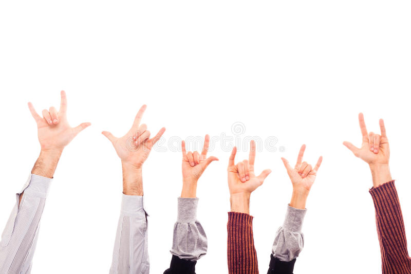 Download Rock and Roll stock image. Image of isolated, image, finger - 17203981