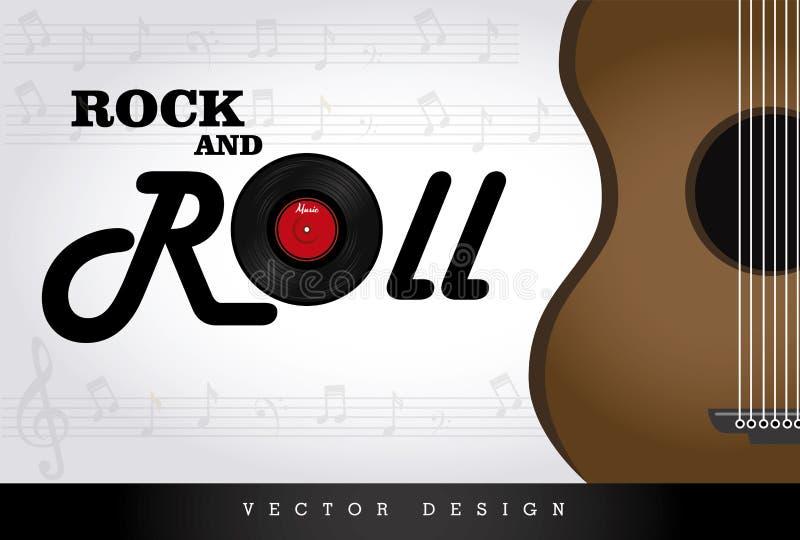 Rock-and-Roll lizenzfreie abbildung