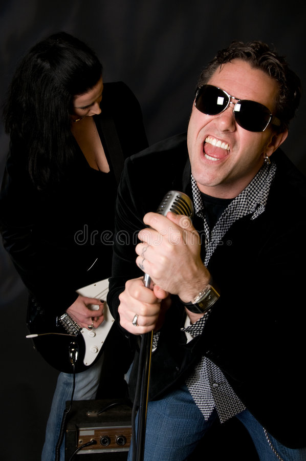 Rock-and-Roll stockfoto