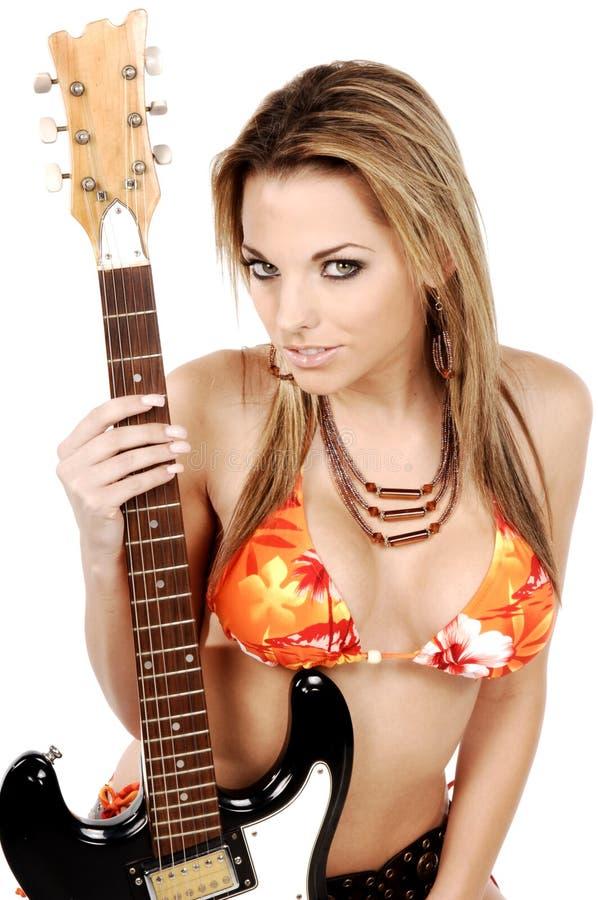 Rock and Roll Bikini stock photo