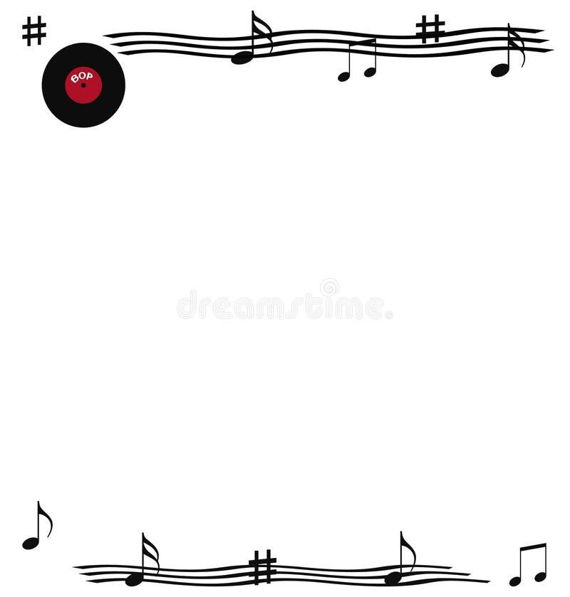 rock roll scrapbook ελεύθερη απεικόνιση δικαιώματος