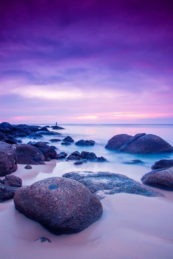 rock słońca zdjęcie stock