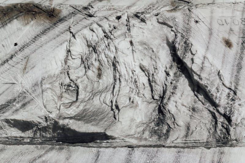 Rock salt in salt mine stock photography