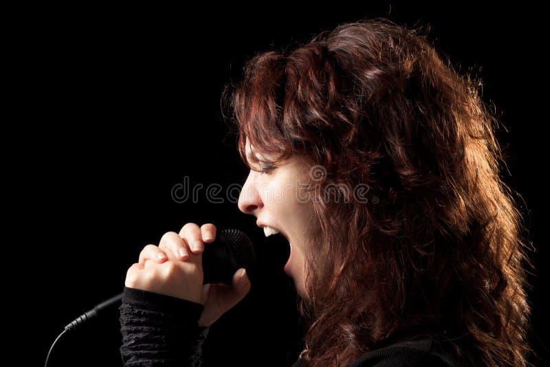 Download Rock Singer Screaming stock image. Image of singer, rock - 20243113