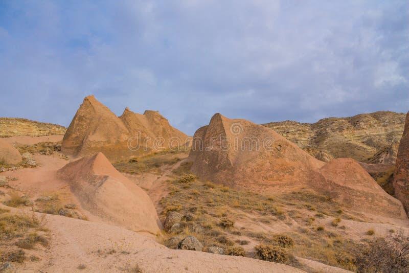 Rock Sites of Cappadocia, Kapadokya, Turkiet royaltyfria bilder