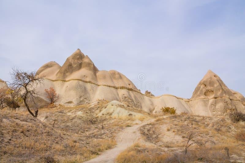 Rock Sites of Cappadocia, Kapadokya, Turkiet arkivfoto