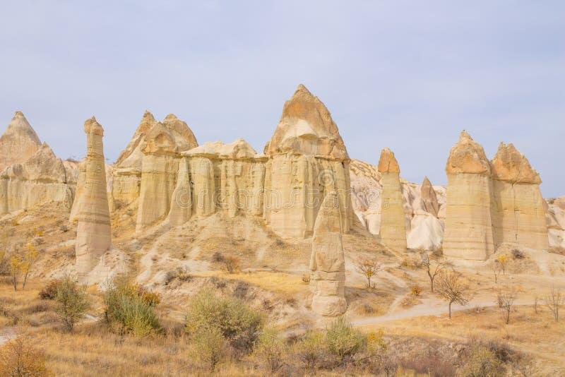 Rock Sites of Cappadocia, Kapadokya, Turkiet arkivbild