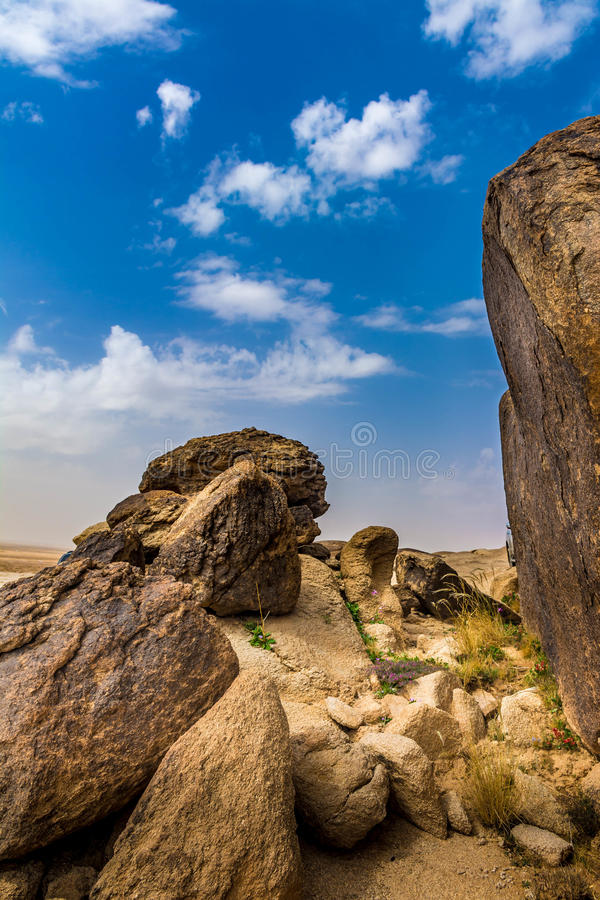 Rock & Sky royalty free stock images