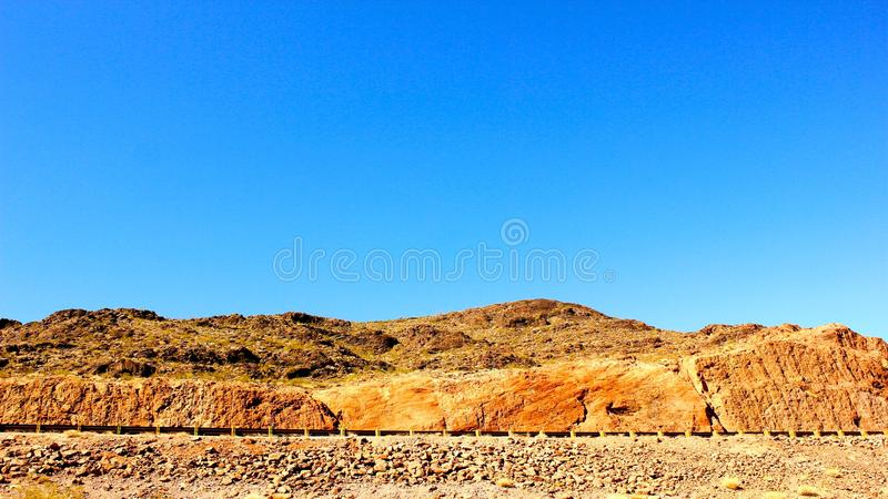 Rock and Sky royalty free stock images