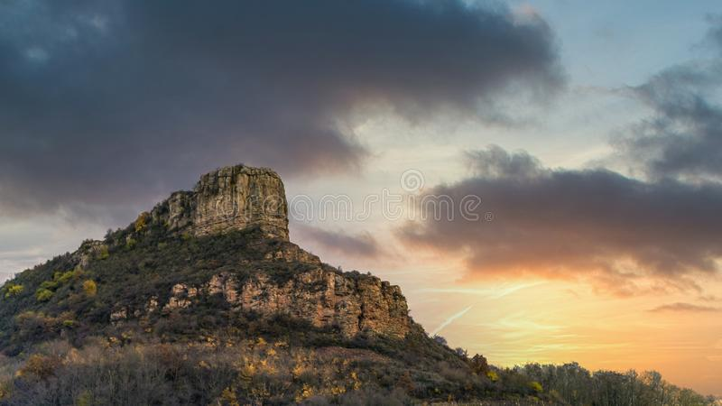 Rock of Solute, Frankreich stockfoto