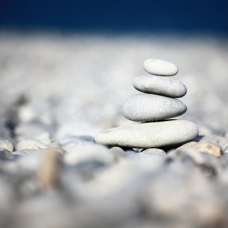 Rock stack royalty free stock photography
