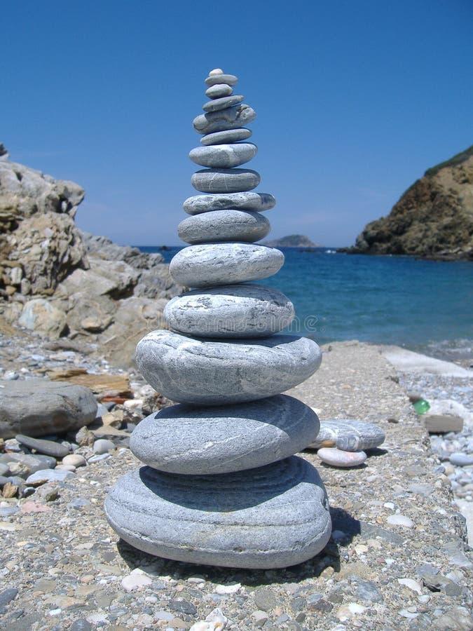 Rock stack royalty free stock image