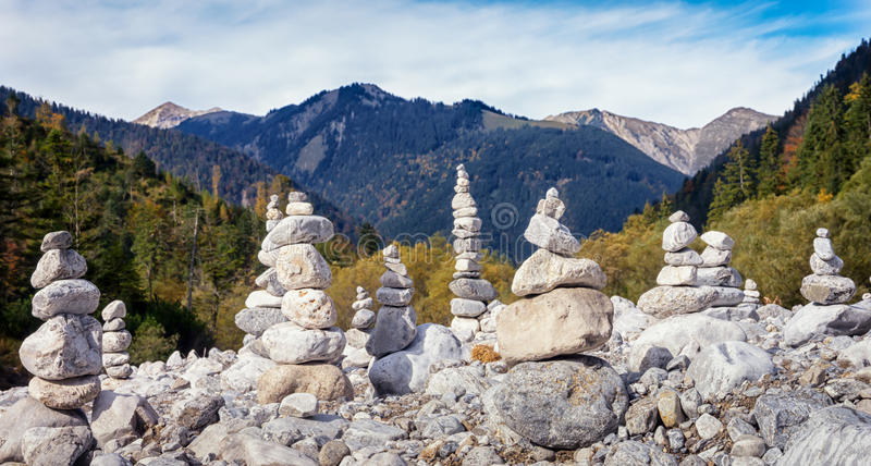 Download Rock stacks stock image. Image of up, high, backgrounds - 34303327
