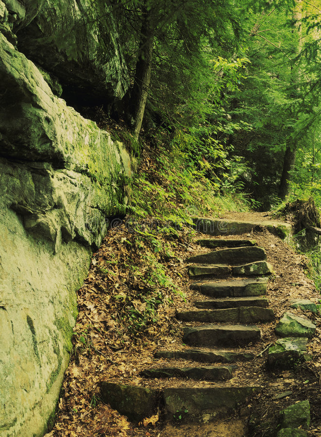Download Rock staircase stock image. Image of staircase, nature - 1100839