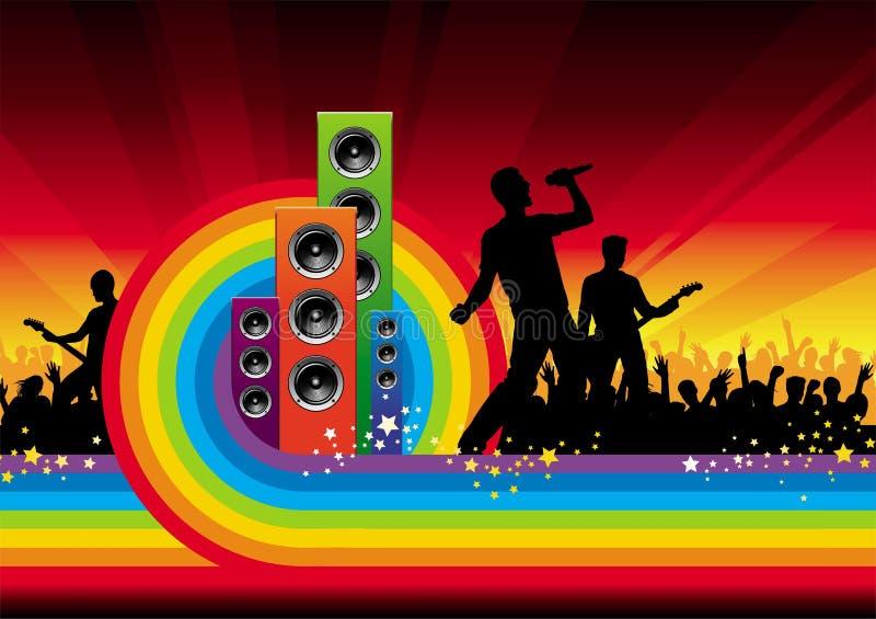 Rock star illustrazione vettoriale