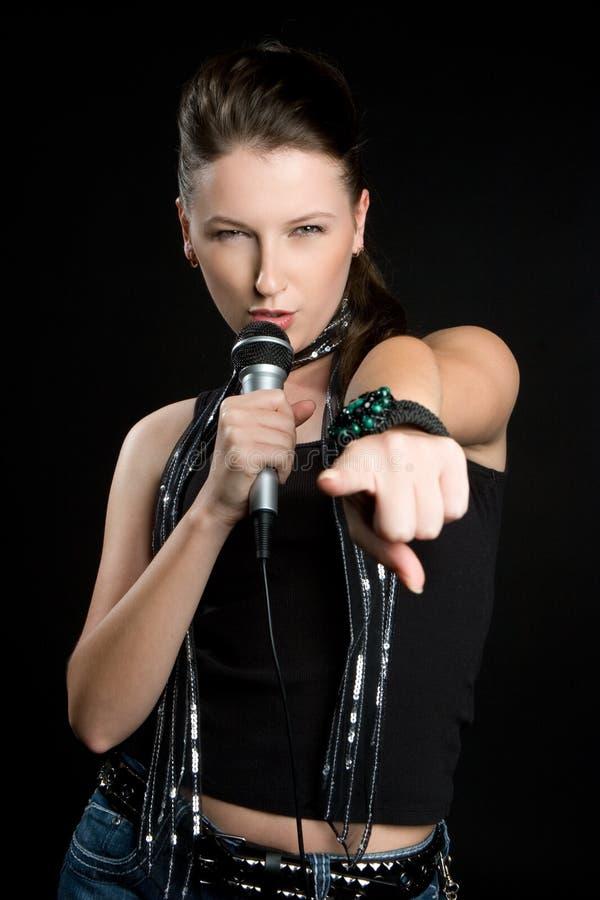 Download Rock Star Girl stock image. Image of sing, girls, singing - 11000211