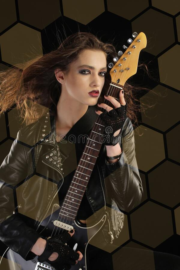 Rock star royalty free stock photo