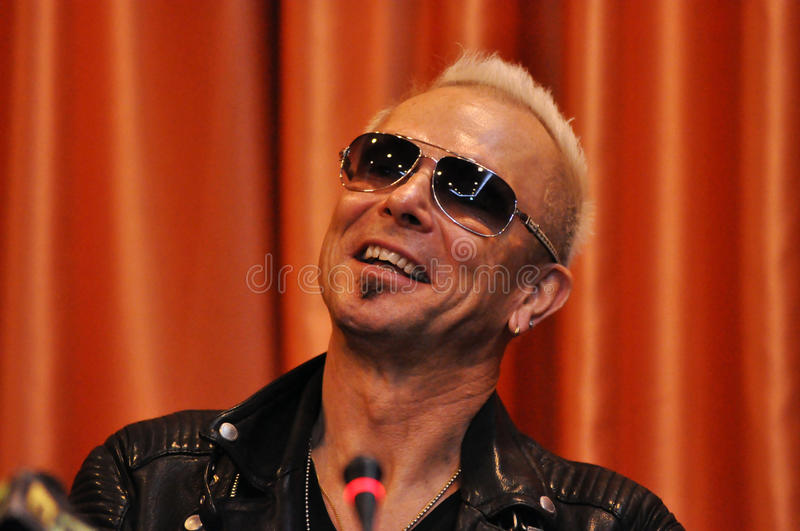 Download Rock Star At Press Conference Editorial Photography - Image: 21770262