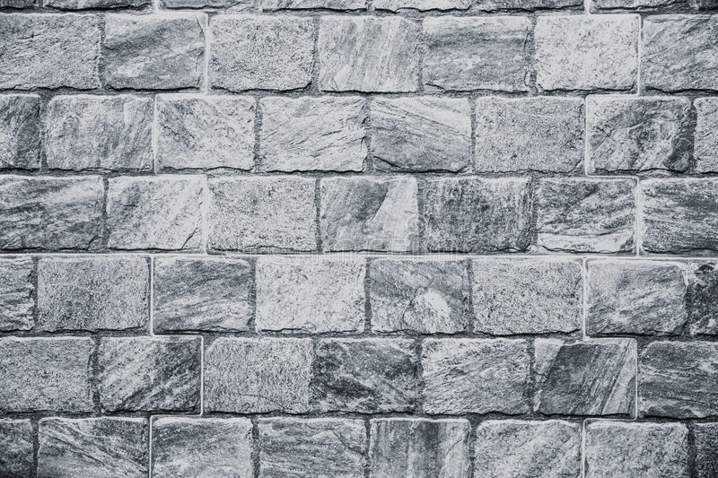 Rock stone wall texture pattern mono tone royalty free stock images