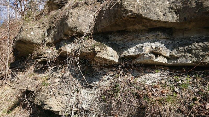 rock szczerbiąca tło obrazy stock