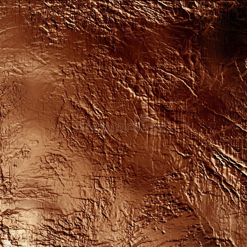 Rock texture. On a dark brown background royalty free illustration