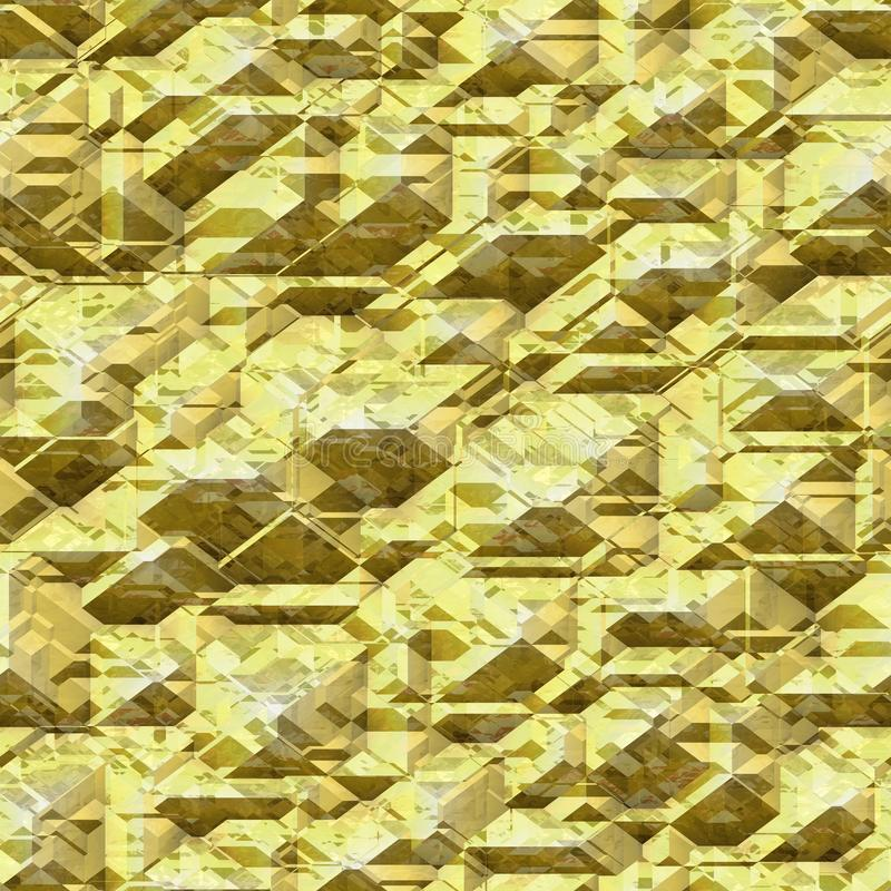 Rock texture gold. With black places vector illustration