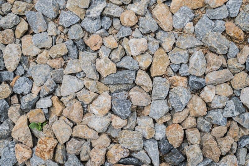 Rock texture from rock pile. Close up rock texture from rock pile stock photography