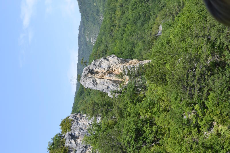 Download Rock Towering Above The Forest Stock Photo - Image: 26888430