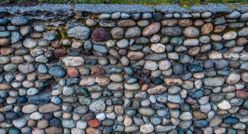 Rock Wall Closeup royalty free stock photo