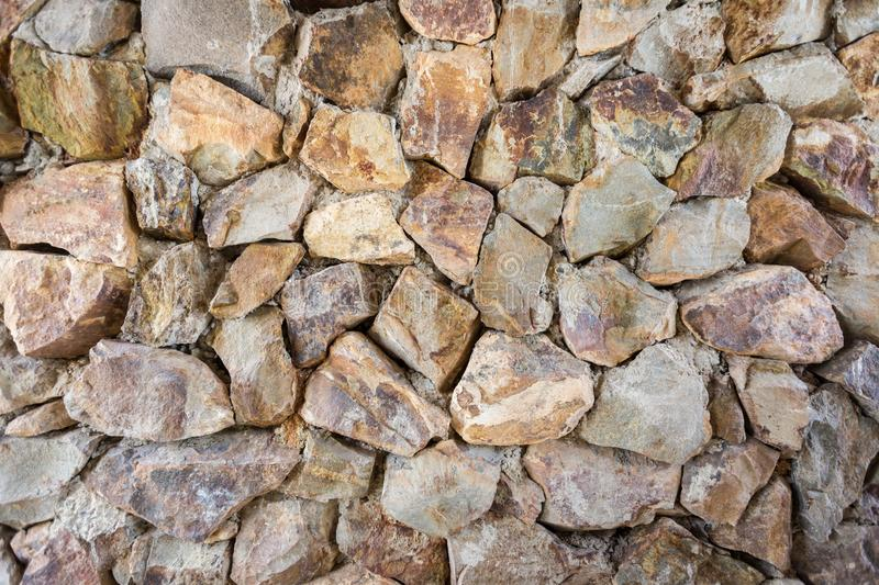 Rock wall pattern stock images