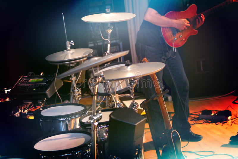 Rockband arkivfoton